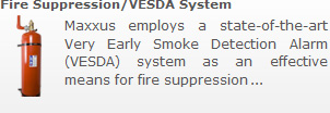 Fire Suppression/VESDA System